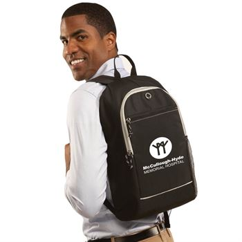 Bayside Backpack (Black) - Personalization Available