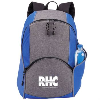 Aspen Backpack in Blue/Gray - Personalization Available
