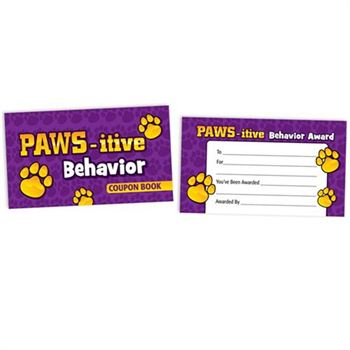 PAWS-itive Behavior Coupon Book