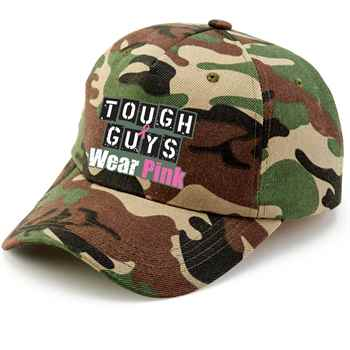 Tough Guys Wear Pink Camouflage Baseball Cap