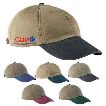 6-Panel Low Profile Washed Pigment Dyed Cap - Personalization Available