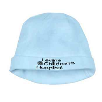 100% Rib Knit Cotton Infant Jersey Beanie Hat - Personalization Available