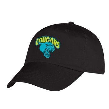 Black Baseball Cap - Personalization Available