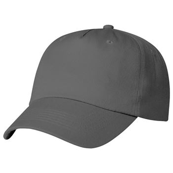 Polyester 5-Panel Embroidered Cap - Personalization Available