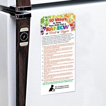 10 Ways To Help Your Kids Eat A Rainbow Of Fruits & Veggies E-Z 2 Stick Glancer