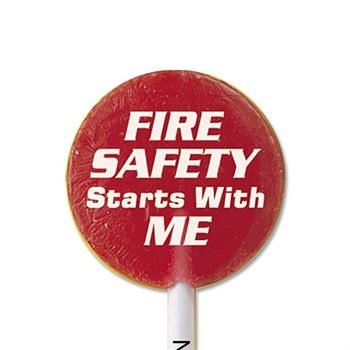 Fire Safety Starts With Me...Never Play With Matches Lollipops
