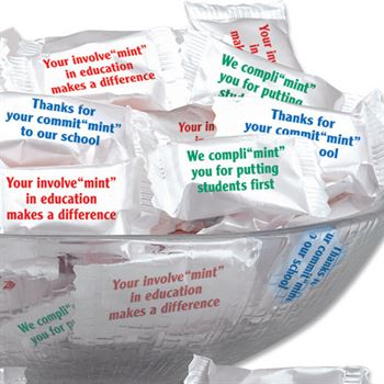 Assorted Phrases Of Praise Mints