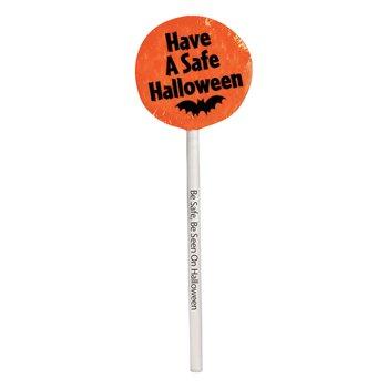 Have A Safe Halloween Lollipop Pack