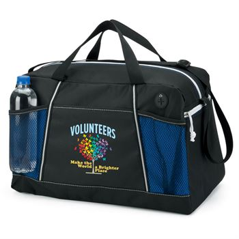 Volunteers Make The World A Brighter Place Northport Duffel Bag