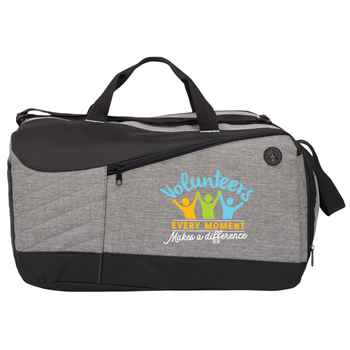 Volunteers: Every Moment Makes A Difference Stafford Duffel Bag