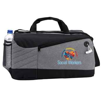 Social Workers: Passion, Purpose, Heart Stafford Duffel Bag