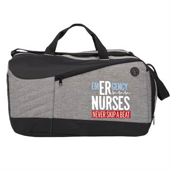 Emergency Nurses Never Skip A Beat Stafford Duffel Bag