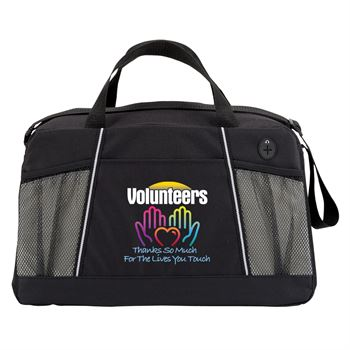 Volunteers: Thanks So Much For The Lives You Touch Northport Duffel Bag