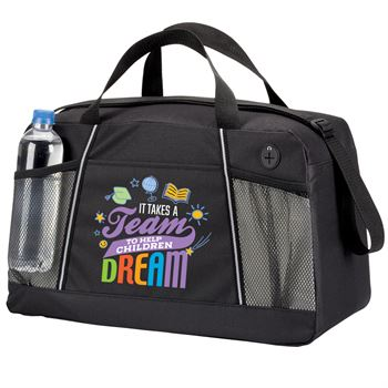 It Takes A Team To Help Children Dream Northport Duffel Bag