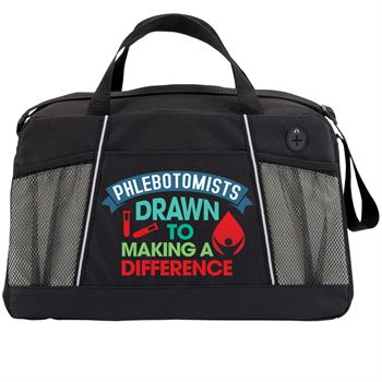 Phlebotomists: Drawn To Making A Difference Northport Duffel Bag