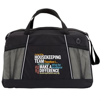 I'm Part Of The Housekeeping Team... Northport Duffel Bag