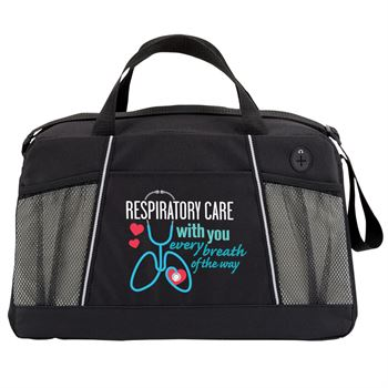 Respiratory Care With You Every Breath Of The Way Northport Duffel Bag
