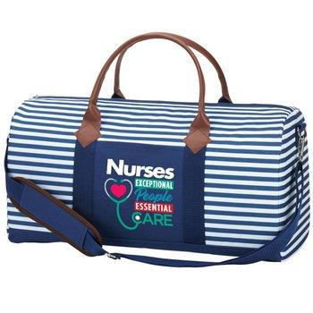 Nurses: Exceptional People, Essential Care Nantucket Weekender Duffel Bag