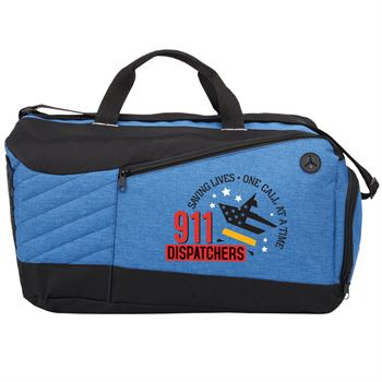 911 Dispatchers Saving Lives One Call At A Time Stafford Duffel Bag