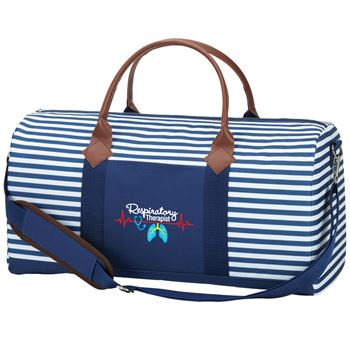 Respiratory Therapist Heartbeat Nantucket Weekender Duffel Bag