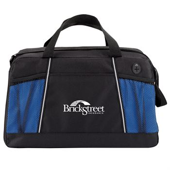 Blue/Black Northport Duffel Bag - Personalization Available