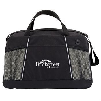 Gray/Black Northport Duffel Bag - Personalization Available