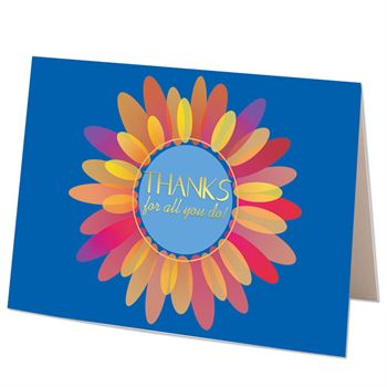 Thanks For All You Do! Greeting Card - Personalization Available