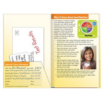 My Child's Complete Health Organizer With Wellness And Safety Tips