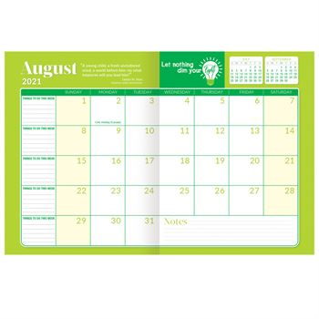 2015-2016 Academic Monthly Desk Planner