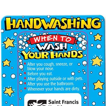 Hand Washing Superstar Magnet