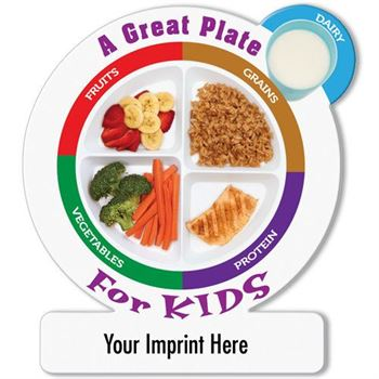 A Great Plate For Kids Magnet - Personalization Available
