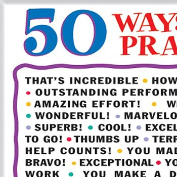 50 Ways To Praise Kids Magnets