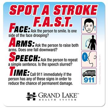Spot A Stroke F.A.S.T. Magnet - Personalization Available