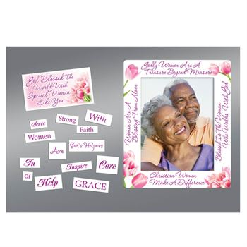 Women Are A Gift From God Magnetic Photo Frame