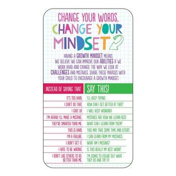 Change Your Words, Change Your Mindset Magnet