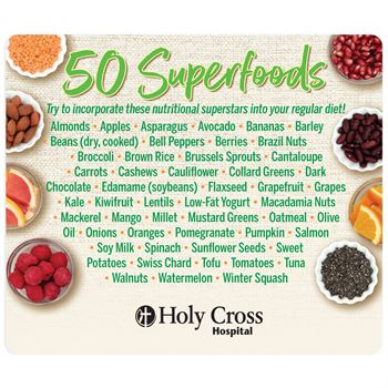 50 Superfoods Magnet - Personalization Available