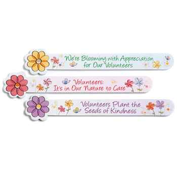 Volunteers Flower Emery Board Set