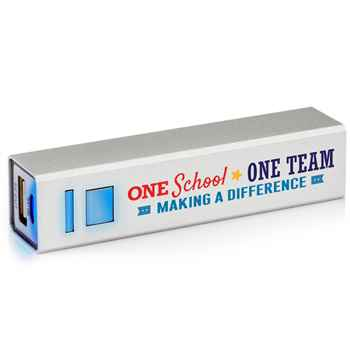 One School, One Team: Making A Difference UL® Metal Power Bank