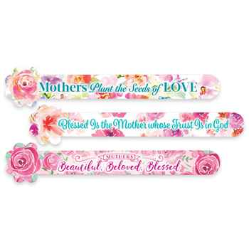 Flower Emery Board Set For Mothers - Pack of 24