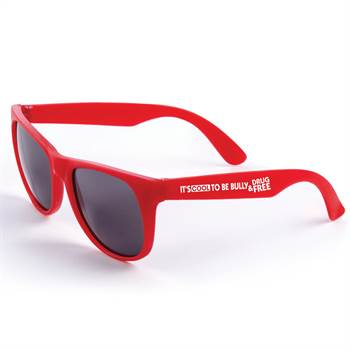 It's Cool To Be Bully & Drug Free Sunglasses - Pack of 10