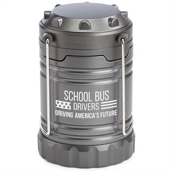 School Bus Drivers: Driving America's Future Indoor/Outdoor Retractable LED Lantern With Magnetic Base