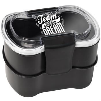 It Takes A Team To Help Children Dream 2-Tier Food Container
