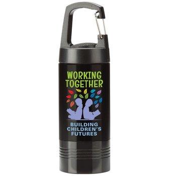 Working Together Building Children's Futures Ridgewood LED Carabiner Flashlight