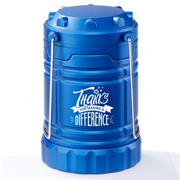 Thanks for Making a Difference Indoor/Outdoor Lantern With Magnetic Base