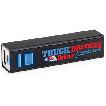 Truck Drivers Deliver Excellence Metal Power Bank