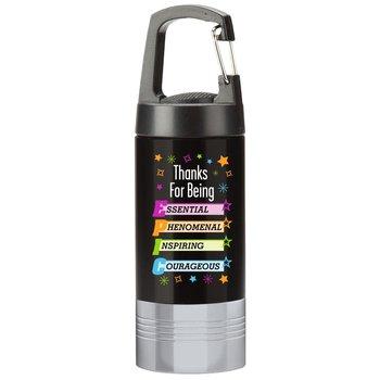 Thanks For Being Epic Ridgewood LED Carabiner Flashlight