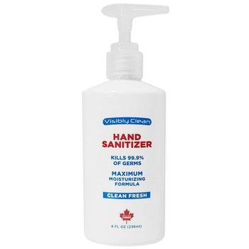 8 Oz. Hand Sanitizer Gel