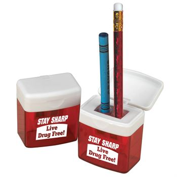 Stay Sharp: Live Drug Free! Pencil Sharpener