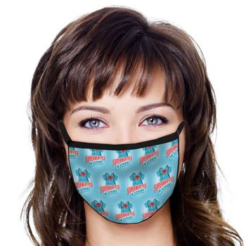 Superheroes in Scrubs American Made 3-Ply Face Mask