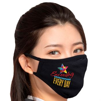 Exceeding Expectations Every Day 2-Ply 100% Cotton Face Mask
